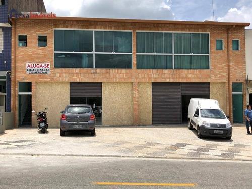 Sala Para Alugar, 90 M² Por R$ 2.200/mês - Residencial Morada Dos Lagos - Barueri/sp - Sa0025