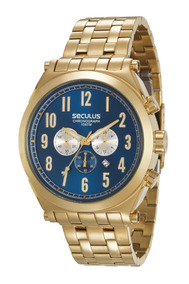 Relógio Masculino Seculus 20554gpsvda1 Promoção Dia Dos Pais