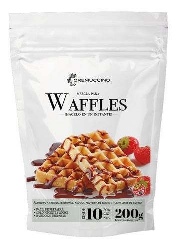 Mezcla Para Waffles   Libre De Glute 200gr Cremuccino