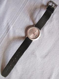 Antiguo Reloj Calvin Klain Swiss Made Con Atraso