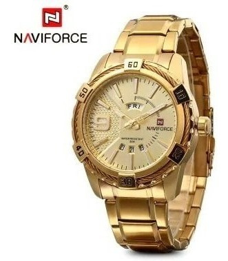 Relógio Estiloso Force Extra Luxo Social Esporte Original