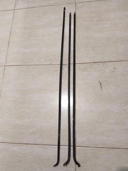 Friso Da Ombreira Gol Ls Gt Gts 87 Alumínio Original