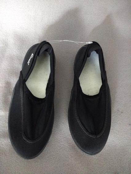Soleado Zapatos Acuáticos Negros Unisex Numero 21 Nuevos