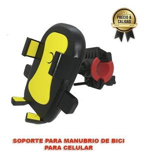 Soporte Holder Bicicleta Manubrio Celular Smartphone Sa3