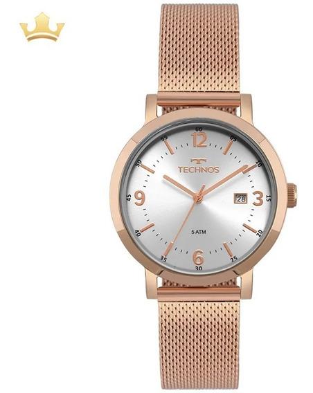 Relógio Technos Feminino 2115mpe/4k Com Nf