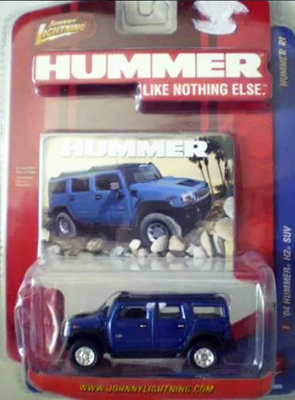 Johnny Lightning Hummer H2 Suv 2004