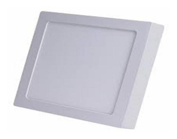 Plafon Led De Sobrepor Quadrado 25w - 30cm X 30 Cm 6000k