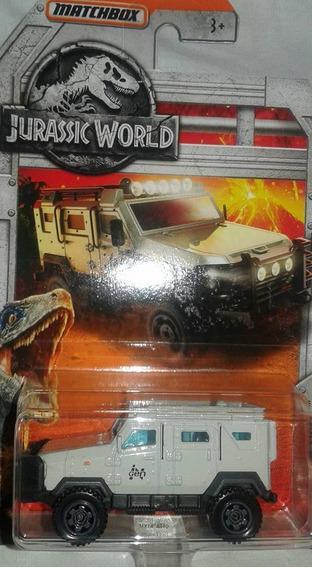 Miniatura Jeep Textron Tiger Jurassic Park Matchbox 1:64 !!!