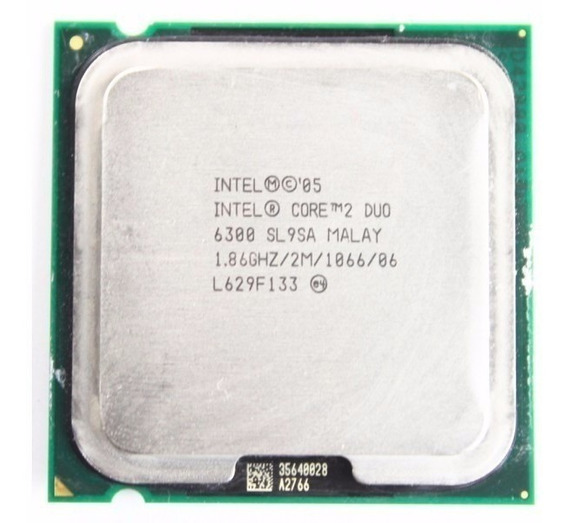 Processador Intel Core 2 Duo E6300 2m Cache 1.86ghz
