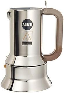 Alessi 9090/m Cafetera Italiana Cafe Espresso