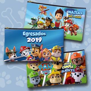 Cartucheras Personalizadas Souvenir Infantiles 20x11 Cordura