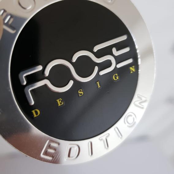 Kit 4 Emblema De Roda Foose 55mm