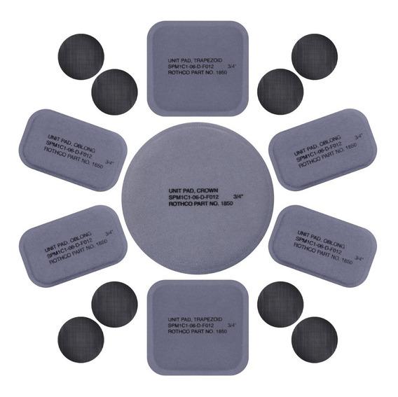 Protecciones Rothco Para Casco Juego De Almohadillas Premium