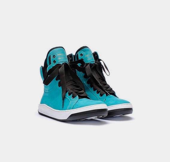 Tênis Hardcore Footwear Sneaker Couro Botinha Juju Salimeni