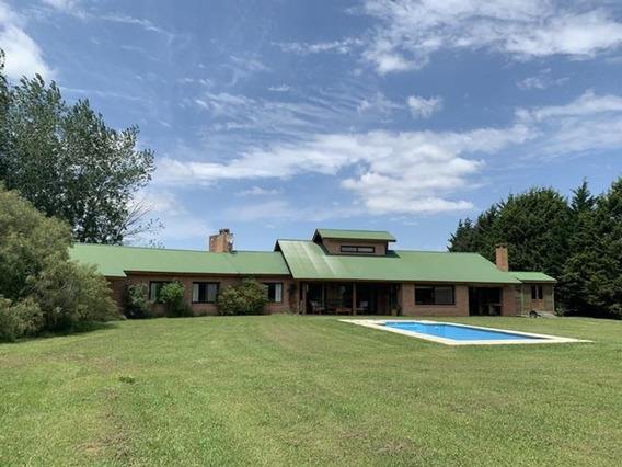 Casa Sobre 5000m2 De Terreno En Club De Campo La Ranita