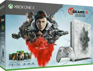 Xbox One X Gears 5 1tb Limited Edition Bundle