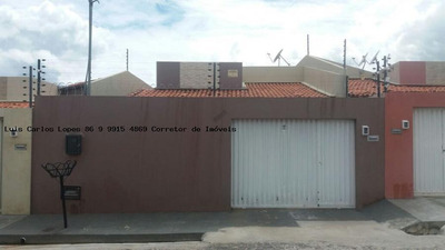 Casa Para Venda Em Teresina, 3 Dormitórios, 1 Suíte, 2 Banheiros, 2 Vagas