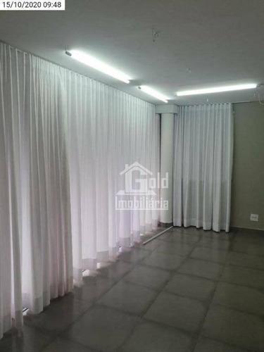 Salão, 175 M² - Venda Por R$ 1.250.000 Ou Aluguel Por R$ 4.500/mês - Condomínio Itamaraty - Ribeirão Preto/sp - Sl0240