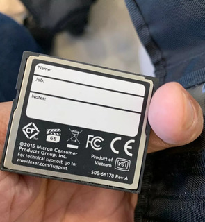 Cartão Compact Flash Lexar Profissional 1066x 32gb