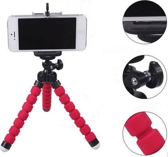 Mini Tripé Universal Flexível Para Smartphones E Câmeras