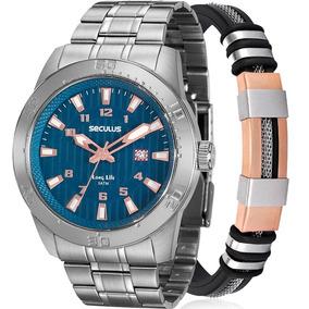 Relógio Seculus Masculino Original Garantia 20444g0skna2k1
