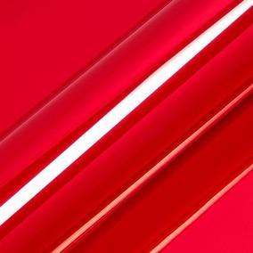 Adesivo Envelopamento Cromo Vermelho Carro Ou Moto 1,5x1m