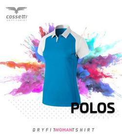 Playera Tipo Polo Dry-fit Ranglan Cossetti, Xl, 2xl,3xl