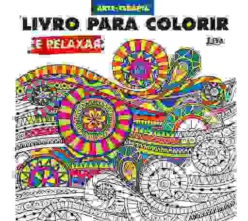 Livro Para Colorir E Relaxar Terapia Antiestresse 96 Pág