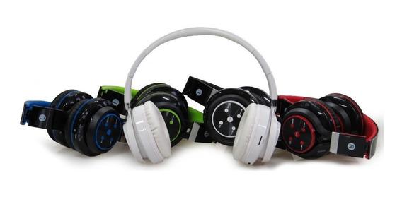 Fone Ouvido S/fio Bluetooth Radio Fm Micro Sd Atende Chamada
