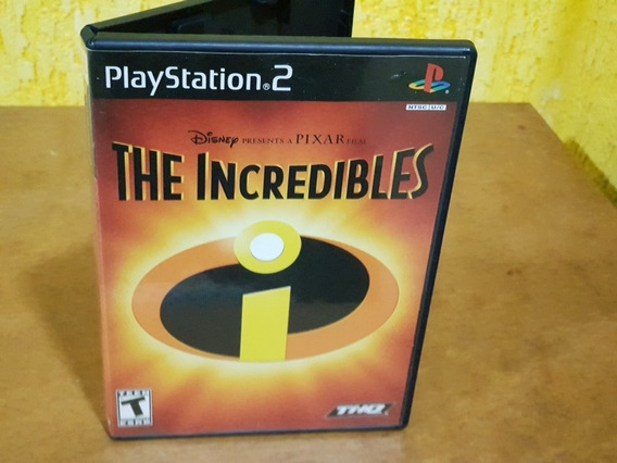 The Incredibles Usado Manuais Ps2 Mídia Física