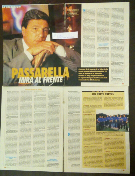 Passarella Entrevista 95