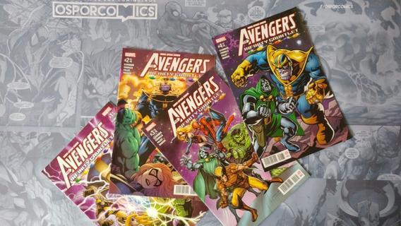 The Avengers Infinity Gauntlet Serie De Marvel Comics Mexico