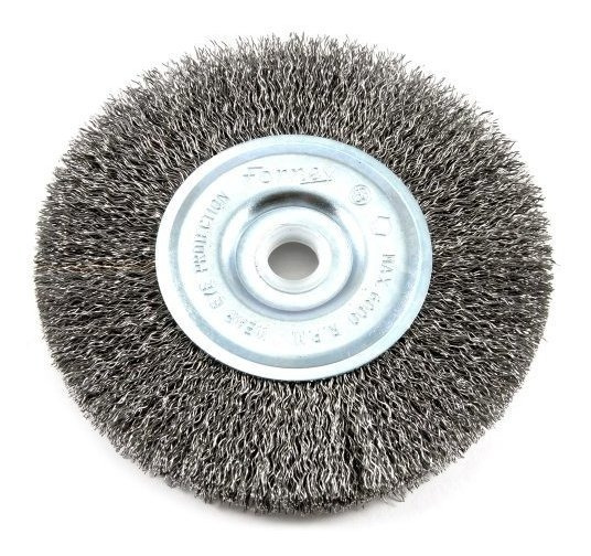 Forney 72741 Wire Wheel Brush, Coarse Crimped With 1/2-inc