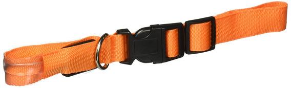 Oxgord Ptcl-02-lg-og L.e.d. Pet Collar, Naranja, Grande