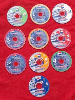 Minidisk / Pepsi / 10 Discos Originales / Pepcd