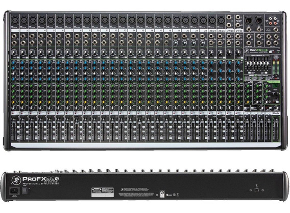 Mesa De Som Mackie Profx30 V2 Usb Eq 30 Canais+efeitos+nf