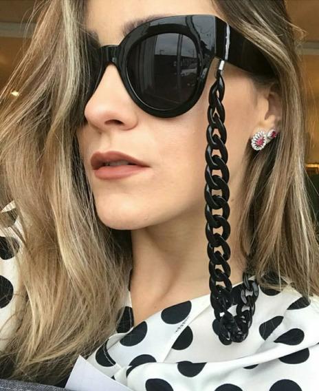 Kit De 3 Cordões De Óculos Bijou Pingente Grossa Promoção