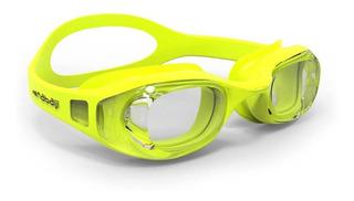 Óculos De Natação Infantil Nabaiji Amarelo Com Lente Antiembaçamento