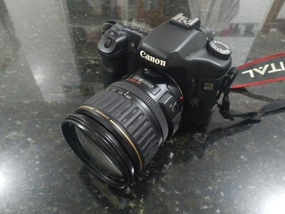 Câmera Canon Eos 40d + Lente 28-135mm