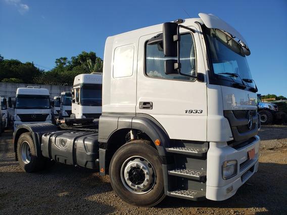 Mb 1933 Axor 4x2 Ano 2013 Apenas 152.500 Km =vw Volvo 19330
