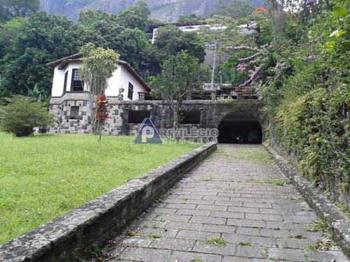 Casa De Rua À Venda, 11 Quartos, 10 Vagas, São Conrado - Rio De Janeiro/rj - 7486