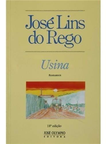 Livro Usina José Lins Do Rego