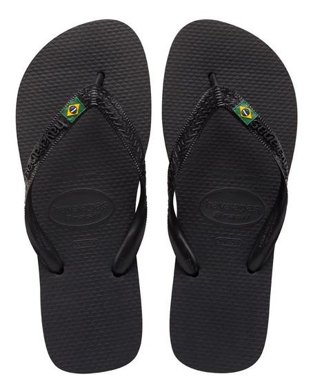 Ojotas Natación Havaianas Brasil Fc Mujer 4000032 On