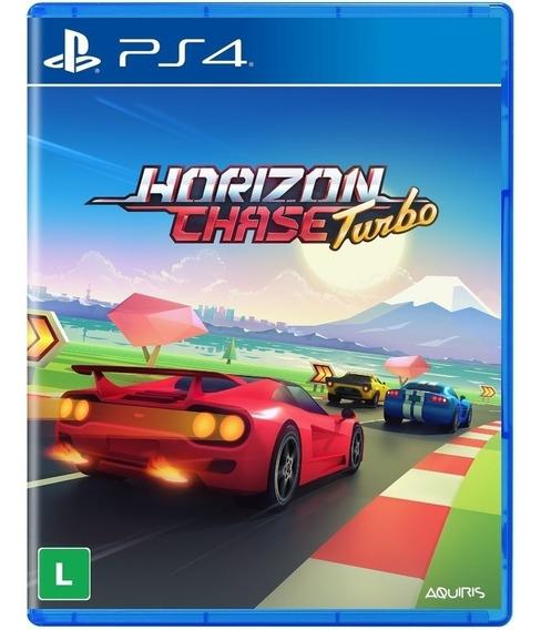 Jogo Horizon Chase Turbo Ps4 Disco Físico Lacrado Português