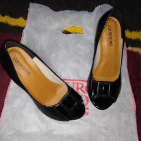 Sapato E Sandalia Couro Fino