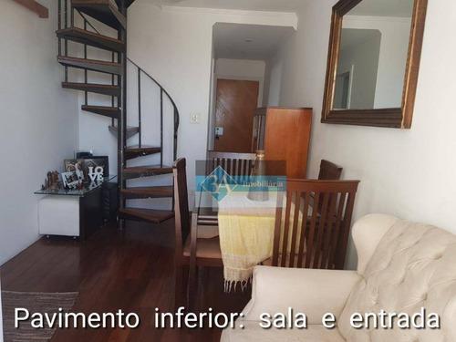 Cobertura Residencial À Venda, Vila Londrina, São Paulo. - Co0104