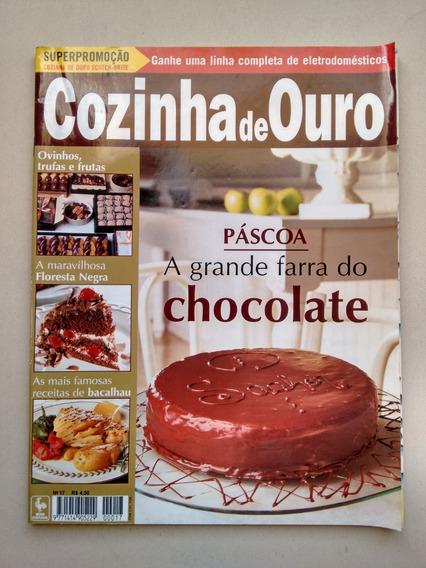 Revista Cozinha De Ouro 17 Páscoa Bolos Ovos Trufas D088