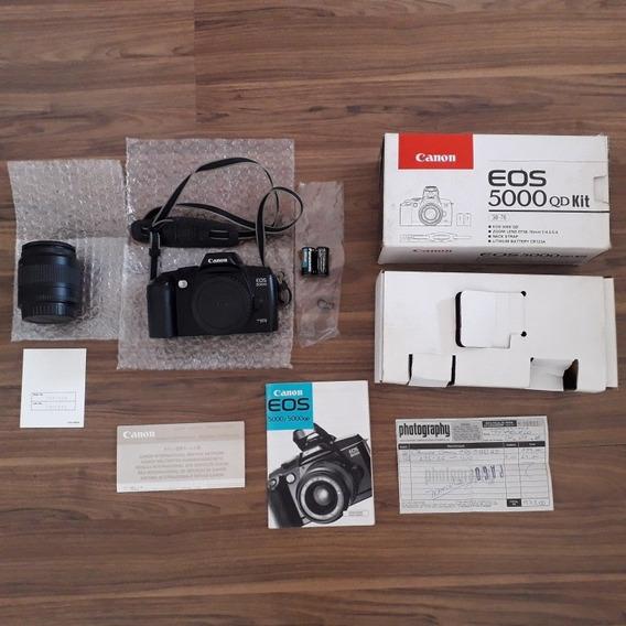 Máquina Fotográfica Canon Eos 5000 Qd Kit