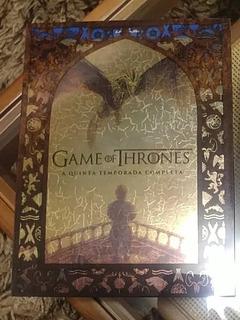Blu-ray Game Of Thrones 5ª Temporada Completa Original