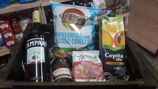 Caja Navideña Gourmet 10 - Campari Cepita Berenjenas